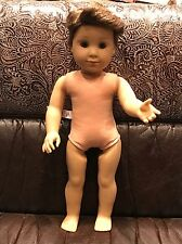 "American Girl 18"" Doll Tenney Grant Best Friend Logan Boy Nude New Condition"