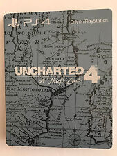 Uncharted 4: A Thief's End Steelbook G2 PS4 *No Game Included* - Rare