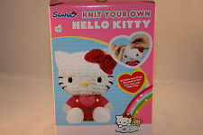 Knit Your Own HELLO KITTY Toy Kit NEW Official Sanrio Licensed Age 3+ / 8+