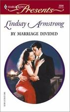 By Marriage Divided, Armstrong, Lindsay, 0373122349, Book, Good
