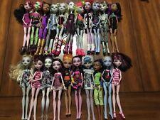 Lot Of 21 Mattel Monster High Dolls