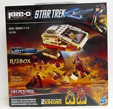 KRE-O Star Trek Spocks Volcano Mission 141 Pcs A3140 2 Kreons Shuttle Playset