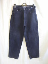 "Mens Jeans - Versace, 30""W, faded black denim high waist 90's style, used - 1004"