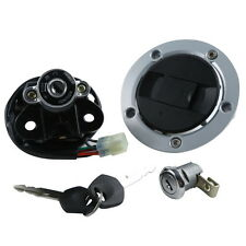 Ignition Switch Lock Gas Cover Key Set For Suzuki GSXR 600 GSX-R750 2004-2005 K5