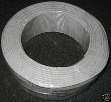 20m mini Satkabel 0.75€/m Satleitung Koaxialkabel dünnes dünn 3,7mm coax cable
