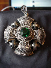 Vintage Jerusalem Crusade Cross Sterling Silver
