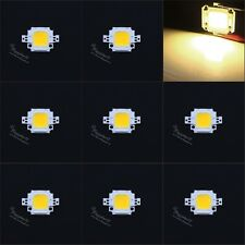 10Pcs 10W Warm White LED Chip Flood Light 30Mil High Power DIY Mini Bulb light