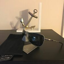 Oakley CROSSHAIR Silver/Dark Grey Sunglasses 05-812 Aviator EXCEL COND!