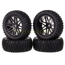 4x RC 1/10 Car Off-Road Rally Monster 62MM Wheel Rim & 96MM Tyre Tires 608B-7007
