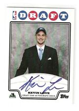 KEVIN LOVE 08-09 Topps draft day auto RC Rookie #DDA-KL Serial #03/50