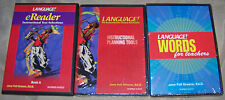 (3) Sopris West Language PC CD eReader Book A Planning Tools Words for Teachers