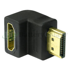 HDMI 1.4 Right Angle Male To Female Adapter Coupler for BlueRay LED Plasma 3D TV