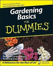 Gardening Basics For Dummies, Steven A. Frowine, Good Book