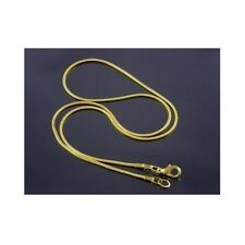 Wholesale Lots 48 1.5MM Gold Plate Copper Snake Chain 1