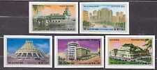 KOREA Pn. 1983 MNH** SC#2287/91  set, Buildings - Imp.