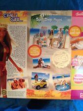 Barbie Ken Cali Girl Summer Hang Ten Surf Beach Shop doll Gear Store Christie