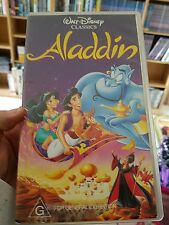 Aladdin VHS VIDEO �� �� �� FAST POST