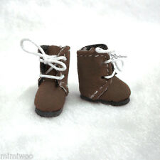 Mimi Collection Hujoo Baby BB Obitsu 11cm Body Doll Shoes Flocked Boots Brown