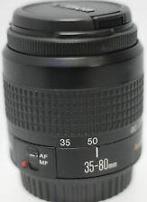 Canon 35-80mm F4-5.6 III EF Mount Zoom Lens EOS 6D 5D 7D 70D Rebel Mark II III