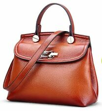 Women Ladies Handbag Shoulder Bag real Leather Messenger Hobo Bag Satchel Tote