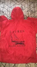 Vtg Rare 90s Polo Ralph Lauren  Colorway Color Red Windbreaker Jacket Small / M