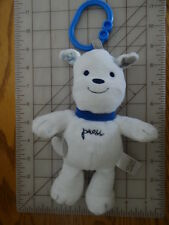 Carter's CHILD OF MINE White Puppy Dog CLIP ON MUSICAL Baby Toy Plush TWINKLE