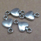 20pc Retro Tibetan Silver Heart-shaped Connectors Findings Jewellery Making B516