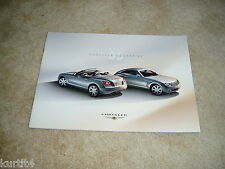 2005 Chrysler Crossfire SRT6 Limited sales brochure dealer literature