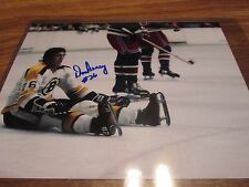 BOSTON BRUINS DON AWREY 8X10 AUTOGRAPH IN HOLDER WITH COA