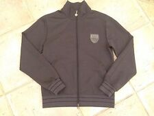 Man Authentic Emporio Armani EA7 Sport Jacket Zip Grey Size M