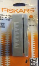 Fiskars Interchangeable Border Punch Cartridge - Banners. See description