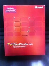 Microsoft Visual Studio 2005 Professional, tedesco, Update
