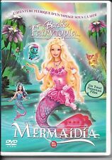 DVD ZONE 2--BARBIE FAIRYTOPIA - MERMAIDIA--WILLIAM LAU