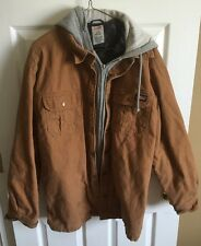 Dickies Hoodies Coat Large 42-44 Brown Work Coat