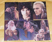 LOTR MASTERPIECES II - 6 CARD FOIL EMBOSSED KAYANAN SET
