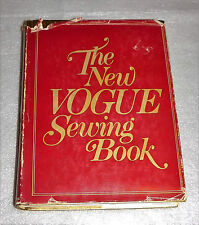 The New Vogue Sewing Book Butterick (1980, HC) Clothes Fashion Custom Techniques