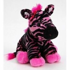 "10"" Pink Zebra Plush Stuffed Animal Toy"