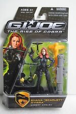 GI Joe Rise Cobra RoC Figure Desert Ambush Shana Scarlett O'Hara New Free Ship
