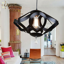 New Creative Black Color Wrought Iron kitchen single Chandelier Lamp lighting