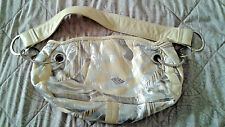A/X ARMANI EXCHANGE ~ CUTE SUMMER SHOULDER BAG~ METAL HOOPS~FOIL ACCENTED~LOOK!!