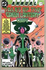 Green Lantern Annual #3-1987 fn Blackest Night Alan Moore