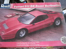 NEW NLA Revell Ferrari 512 BB Boxer Berlinetta 1/16 scale model #7510