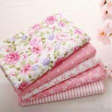 5Pc Cotton Fabric Quarter Bundle Patchwork Quilting Sewing Craft Scrapbook 40X50