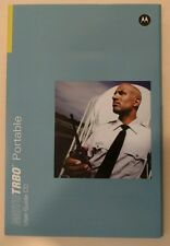 Motorola MOTOTRBO Portable XPR Series User Guide Manual with CD