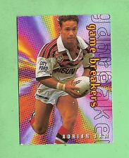 1996 SYDNEY ROOSTERS  GAME BREAKER RUGBY LEAGUE R/L CARD - GB3 ADRIAN LAM