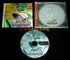 GET BASS SEGA BASS FISHING Dreamcast Dc Versione NTSC Giapponese »»»»» COMPLETO