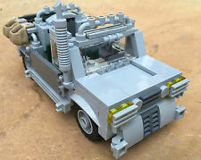 original LEGO NEW PARTS - 4 MEN CREW SAFARI TRANSPORTER - my design
