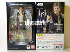 """Bandai S.H.Figuarts Star Wars Episode IV 4 A New Hope HAN SOLO 6"""" action figure"""
