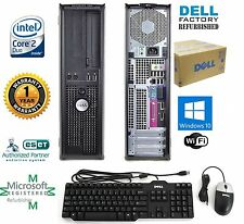 Dell Intel Core 2 Duo 3.00GHZ 8GB Ram 1TB Hard Drive WINDOW 10 PRO 64BIT
