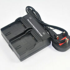 Dual Battery Charger for LP-E6N LC-E6E for Canon 5D 6D 7D Mark 2/3 60D 70D 80D